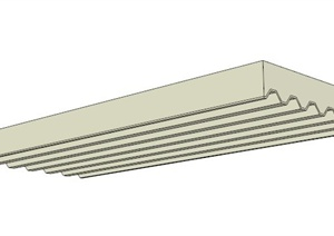 12款建筑构件板面SU(草图大师)模型