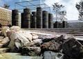 景石,石头,石块,景观柱,台阶,围墙
