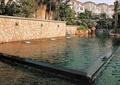 水景墙,喷泉水池景观,住宅景观