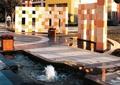 水池,喷泉,喷泉水景,喷泉柱,喷泉水池,水池景观,水景,水景喷泉