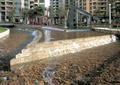 卵石水池,喷泉水池,水池水景,水池驳岸,台阶式水景