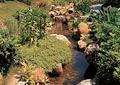 河流水景,卵石水沟,自然石,石头驳岸