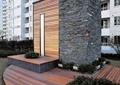 采光井,木地板,种植池,住宅景观
