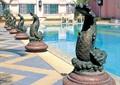 雕塑,雕塑小品,景观小品,地面铺装,水景雕塑