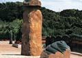 景石,小品,石柱,景观柱