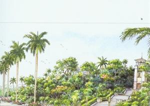學習手繪園林景觀psf文本