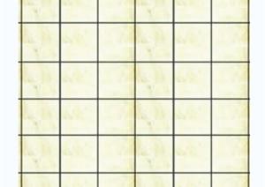 黄色地砖铺装PSD素材