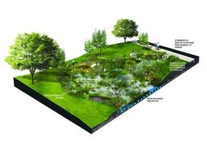 住宅、植物园、村庄景观方案及实景图