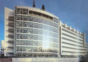 某现代视讯中心建筑设计jpg格式文本