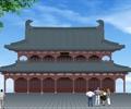两层寺庙,古建筑,文化建筑