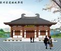 寺庙,古建筑,单层寺庙,文化建筑