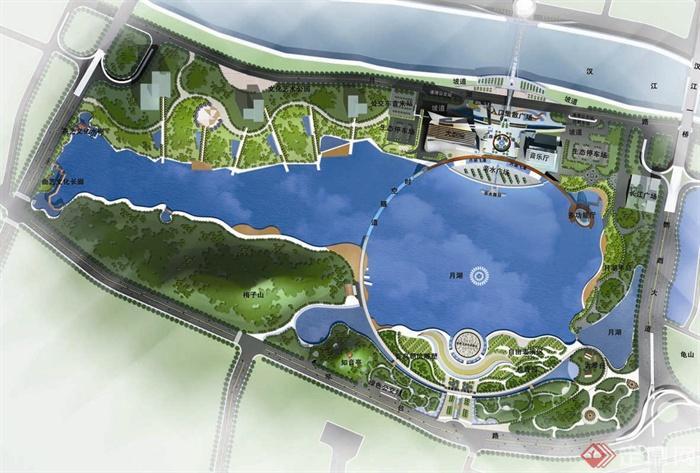 滨水景观,滨水公园,公园景观,公园规划,公园绿化