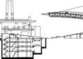 商业建筑,多层商业,廊架
