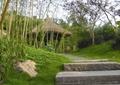 园路,台阶,地面铺装,草坪,亭子,景观树
