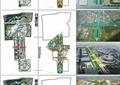 城市規劃,體育館,道路,水體景觀,亭子