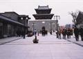 文化景观,路灯,旅游经典,城楼
