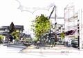 商业街,商业中心,商业景观,商业环境,树池