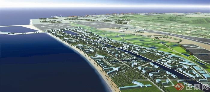滨海城市,滨海规划,滨海景观,海湾景观