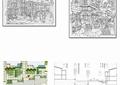 商业街,商业建筑,桌椅,景观树,道路,商业环境,商业景观