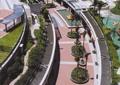 小区景观,长廊,树池,廊架,景观廊,种植池