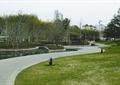 道路景观,地面铺装,草坪,庭院灯,河流景观,公园景观