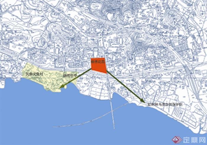 海湾规划,海湾城市,滨海景观