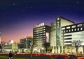 购物中心,商业建筑,步行街,多层商业