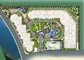 小区景观规划,住宅景观规划,水体景观,道路,景观树,住宅景观