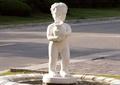 雕塑,小孩雕塑,人物雕塑,雕塑水池