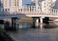 圆拱桥,河流景观,栏杆