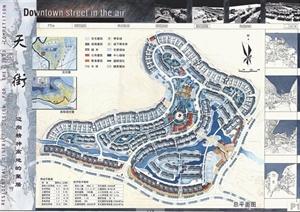 学生作业——山地住宅小区设计方案