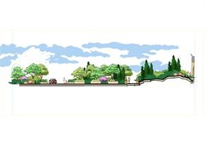 别墅区景观PSD分层图