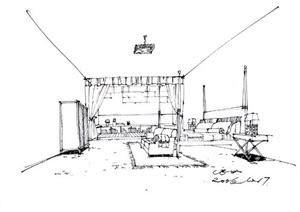 91张室内、建筑等设计JPG手绘图