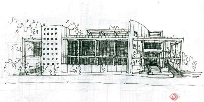 手绘建筑方案图jpg格式(含室内手绘)(5)