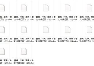 SU(草图大师)材质库(直接使用)
