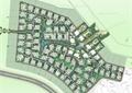 小区规划,住宅景观,居住环境,道路,建筑,植物,河流