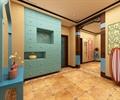 會所,儲物柜,落地燈,地磚,復古磚
