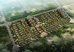 某欧式风格小区住宅建筑规划设计PPT文本