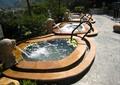 雕塑喷泉,水池水景,喷泉水景,自然石