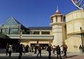 商业建筑,服务中心,路灯,地面铺装