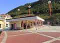 服务中心,服务站,地面铺装,气球