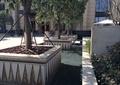 树池,树池盖板,水池景观,矮墙,灯箱,灯柱,住宅景观