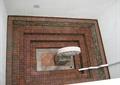 石雕塑小品,地面铺装,水管,台阶,住宅景观