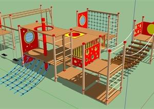 某儿童游乐设施SU(草图大师)模型设计