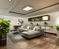 花钵,木地板,沙发,沙发茶几,客厅,客厅空间