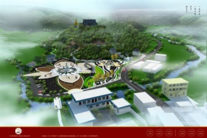 某观音寺公园景观设计