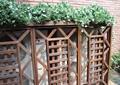 栅栏,空调室外机,花架