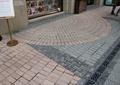 地面铺装,下水孔,标示牌