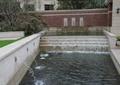 台阶跌水景观,吐水水池景观,水景墙,住宅景观