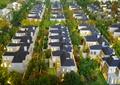 住宅建筑,景观树,沙盘模型